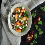 Zimowa salatka z mandaryn...
