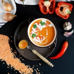 Zupa-krem z czerwonej soc...