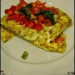 Wrap z omleta - fit...