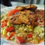 Kurczak w sosie sojowym...