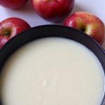 Zupa jabłkowa