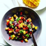 Salsa z mango i czarnej...