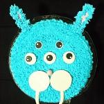 Tort  monster  królik.
