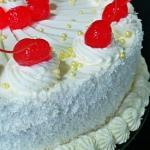 Tort brzoskwiniowy z mang...
