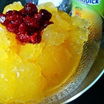 Granita mango z kandyzowa...