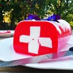 Flaga Szwajcarii -...