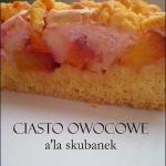 Ciasto owocowe a la...