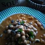 Zupa z batatow i cieciork...