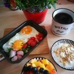Prawdziwe letnie sniadani...