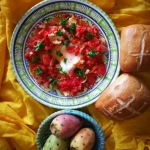 Shakshuka z pomidorami i ...