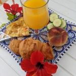 Tunezyjskie śniadanie...