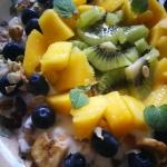 Zdrowe sniadanie w kolora...