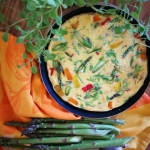 Wiosenny omlet ze szparag...