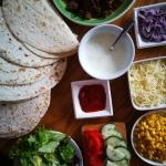 Lekkie domowe burrito