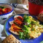 Zdrowe wiosenne sniadanie...