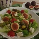 Salatka z figami i gorgon...