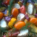 Letnia salatka z kolorowe...