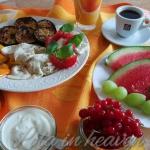 Idealne lipcowe sniadanie...