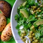 Bardzo zielona salatka