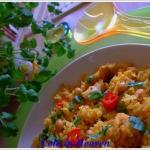 Zdrowy ryz z kurczakiem i...