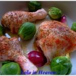 Paprykowy kurczak zapieka...