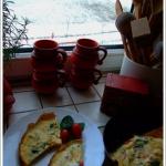 Omlet z ricottą i...
