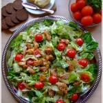Wiosenna salata rzymska z...