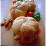 Domowa kanapka z kurczaki...