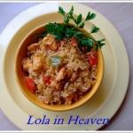 Poranny pośpiech i ryż