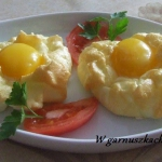 Jajka w chmurce