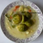 Pyszna zupa z brukselki