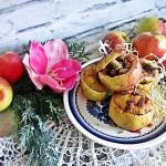 Pieczone jablka z suszona...