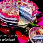 Tort makowo -orzechowy z ...