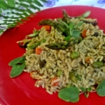 Dziki ryż ze...
