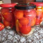 Pomidory w zalewie z czos...