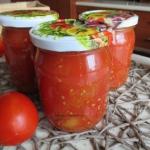 Pomidory krojone na zime....
