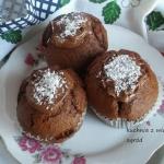 Muffinki czekoladowo koko...