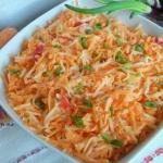 Marchewka z selerem salat...