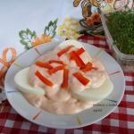 Jajka w sosie andaluzyjsk...