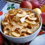 Jablka suszone. Chipsy z ...
