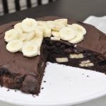 Ciasto czekoladowe z bana...