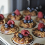 Owocowe muffinki z kruszo...