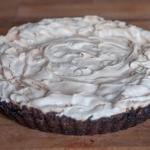 Mocno czekoladowa tarta z...