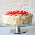 Tort truskawkowo-migdalow...