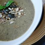 Kremowa zupa z pieczarek...