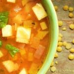 Żółta zupa z...