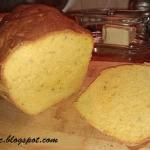 Chleb z puree z dyni