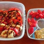 Lunchbox z caprese