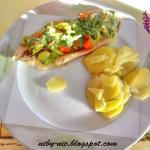 Ryba na parze z warzywami