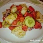 Sałatkowo: panzanella